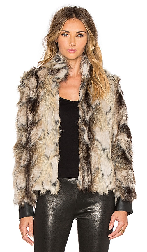 Jack by BB Dakota Tempest Faux Fur Coat