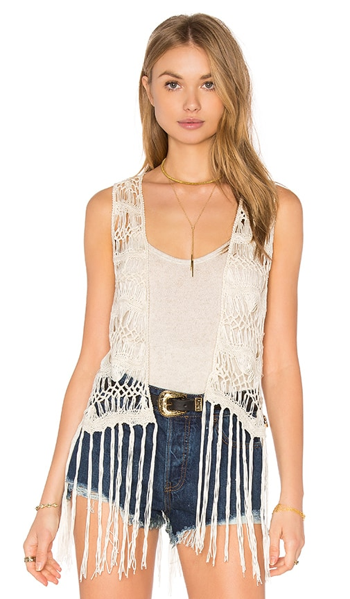 BB Dakota Jack By BB Dakota Lafayette Vest in Ivory