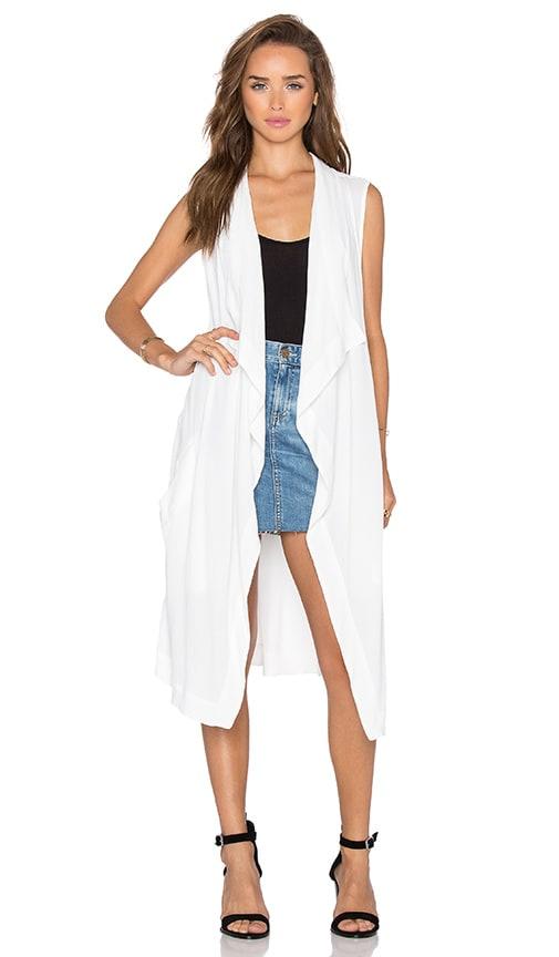 BB Dakota Tilly Vest in White