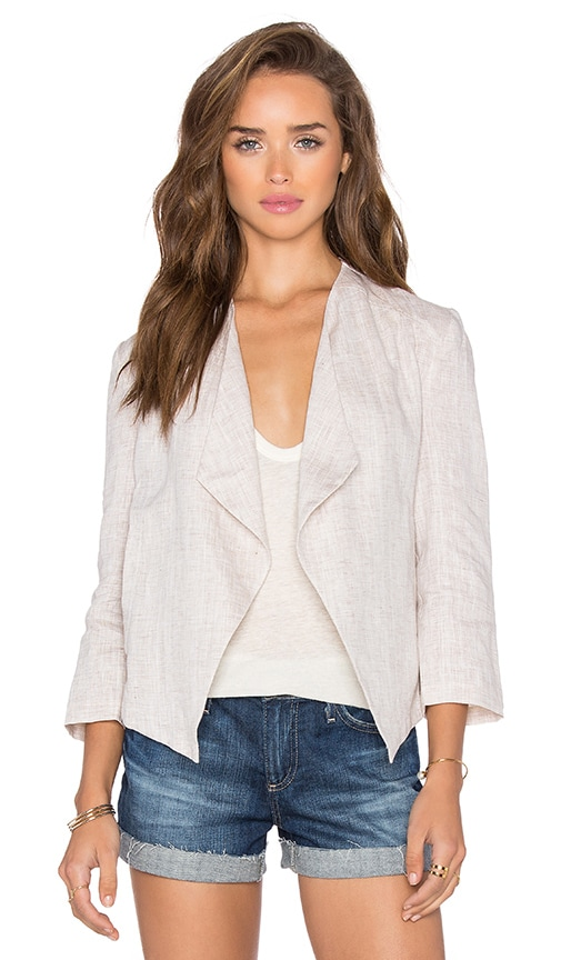 BB Dakota Ellen Blazer in Beige