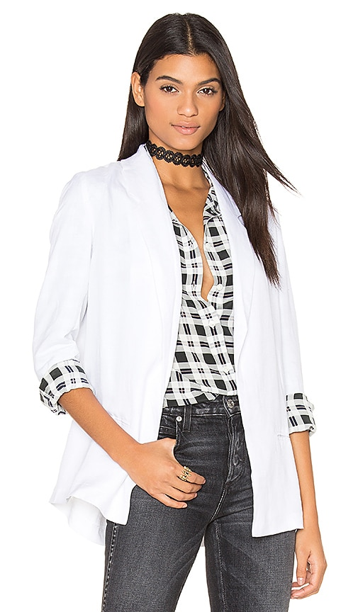BB Dakota Caleb Blazer in Optic White