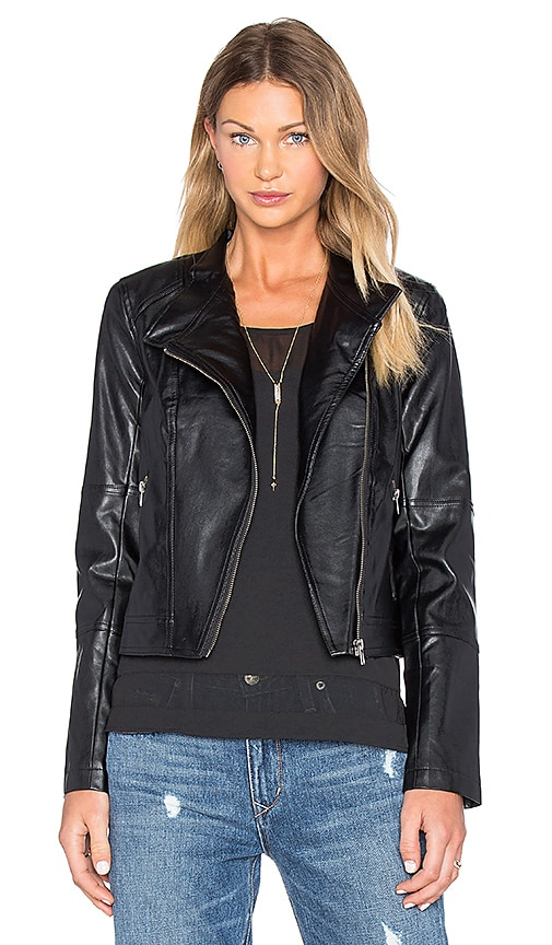 BB Dakota Jack By BB Dakota Feeny Jacket in Black