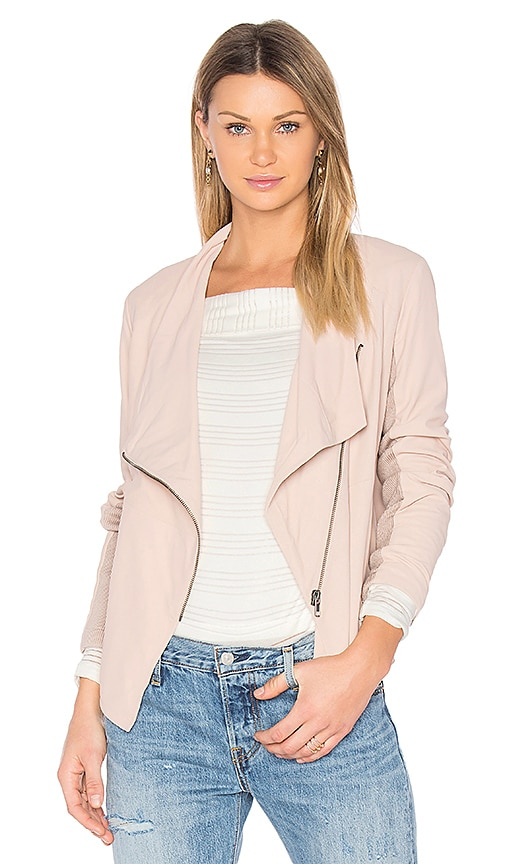 BB Dakota Kenrick Jacket in Blush