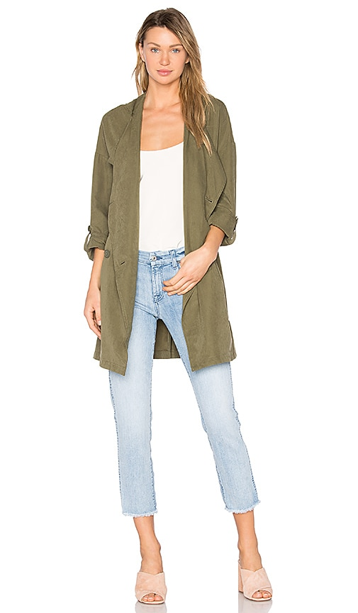 BB Dakota Delancy Coat in Sage