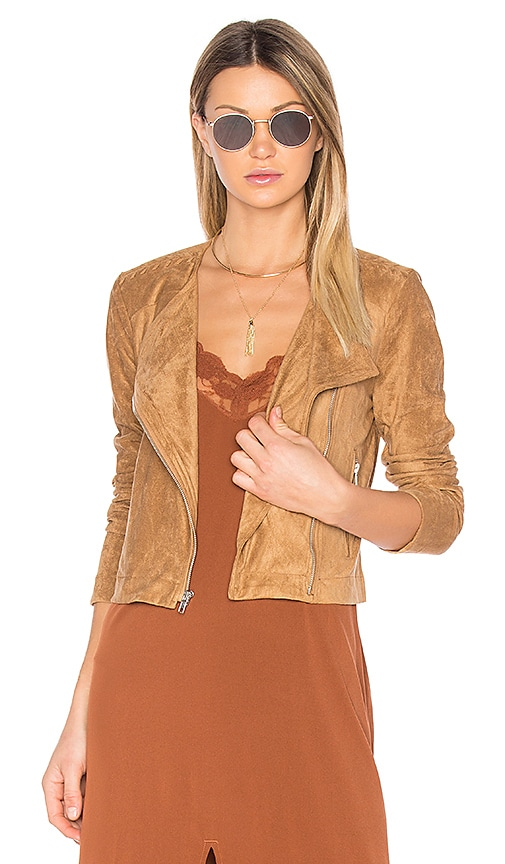 BB Dakota Allerton Coat in Cognac