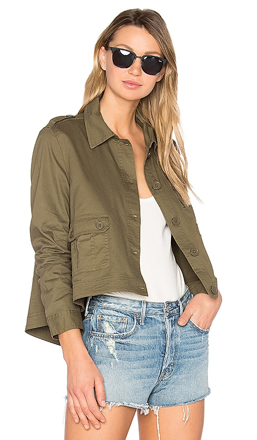 BB Dakota Jack by BB Dakota Cardamom Jacket in Army