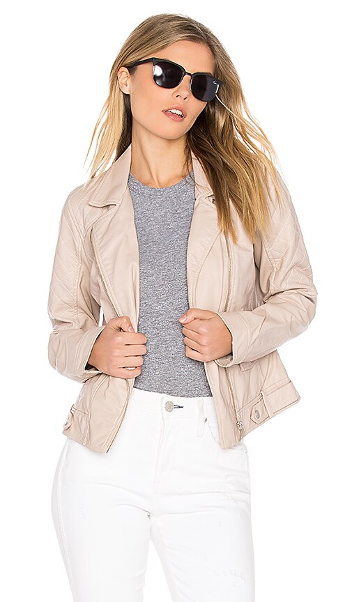 BB Dakota Jack by BB Dakota Clover Jacket in Blush