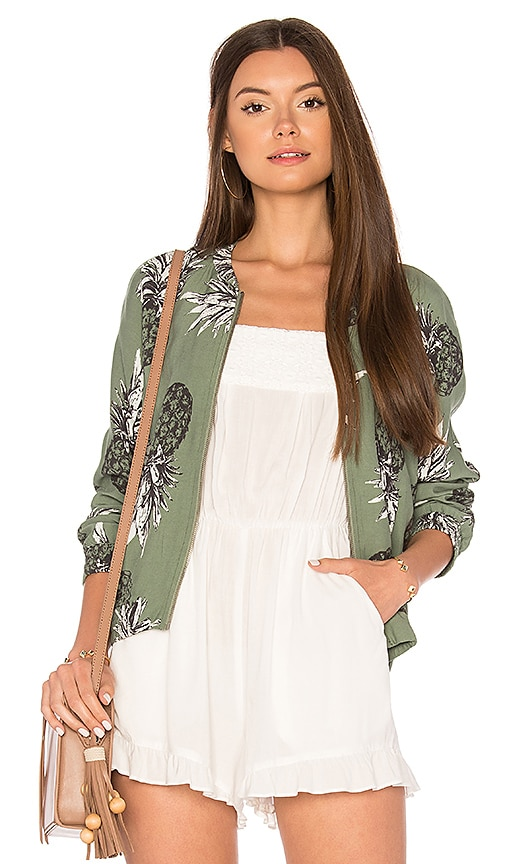 BB Dakota Delaney Jacket in Sage