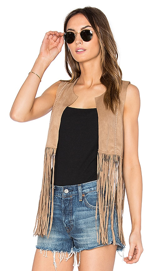Jack by BB Dakota Boggs Vest in Tan