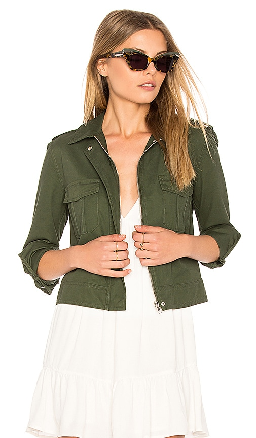 BB Dakota Maddox Jacket in Green