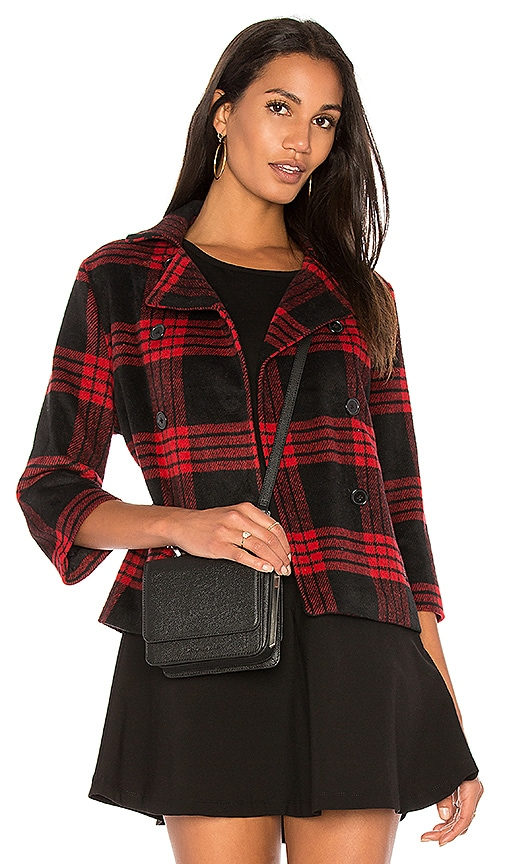 BB Dakota Jack By BB Dakota Henny Jacket in Red