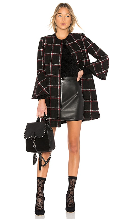 BB Dakota Hewes Coat in Black