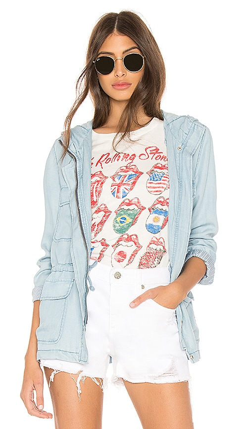 BB Dakota Jeslyn Jacket in Baby Blue