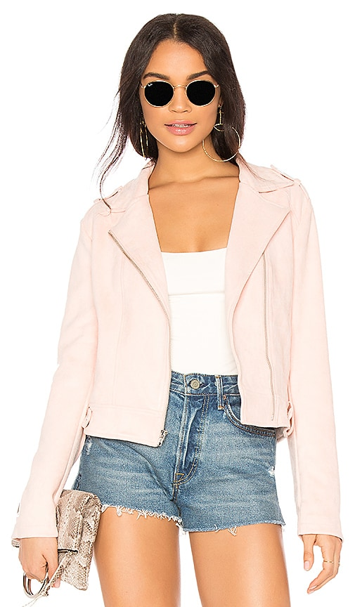 BB Dakota JACK by BB Dakota Weir Jacket in Blush