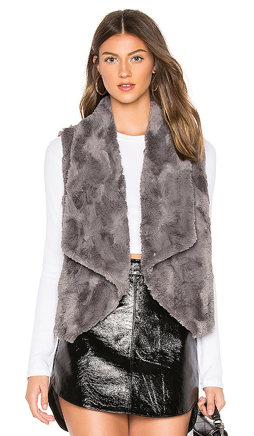 JACK by BB Dakota Big Softy Faux Fur Vest