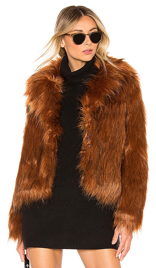 Penny Lane Faux Fur Jacket