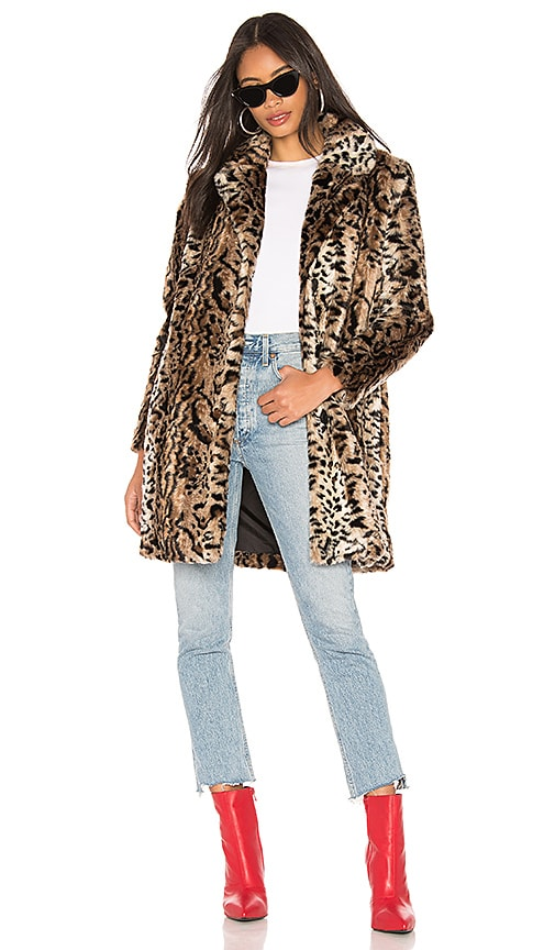 Bradshaw Faux Fur Coat