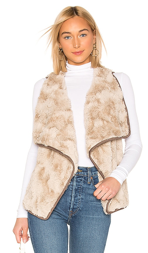 JACK by BB Dakota Most Valuable Layer Faux Fur Vest