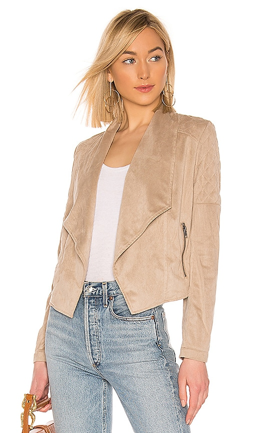 JACK by BB Dakota Quilt Trip Faux Suede Jacket