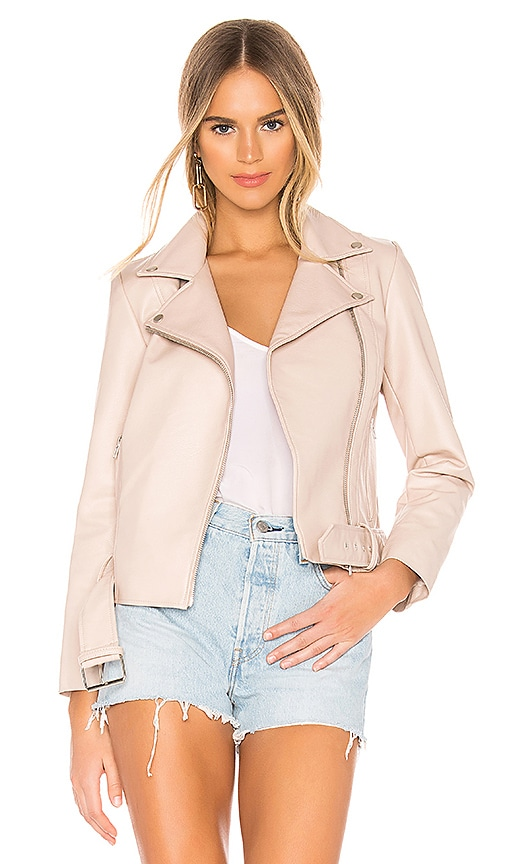 Guest List Faux Leather Jacket