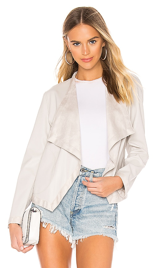 Teagan Faux Leather Jacket