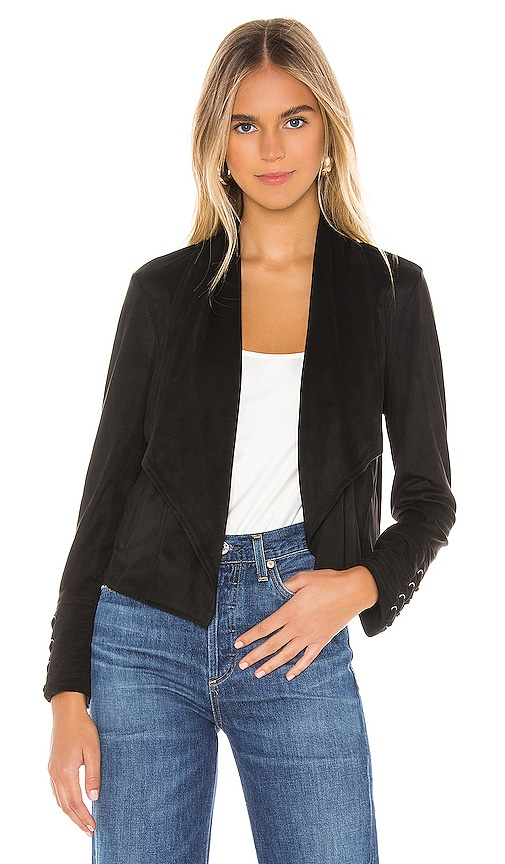 JACK by BB Dakota Flip The Stitch Faux Suede Jacket