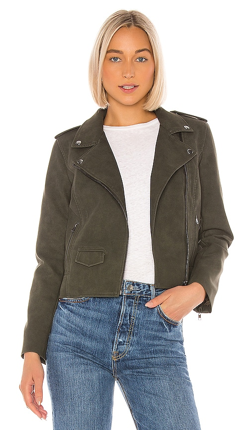 Aint It Cool Faux Suede Jacket
