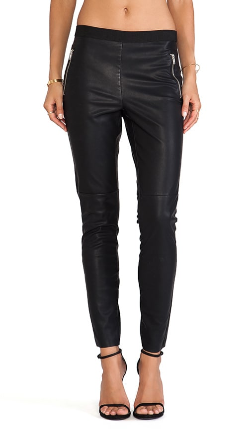 Judy Faux Leather Legging