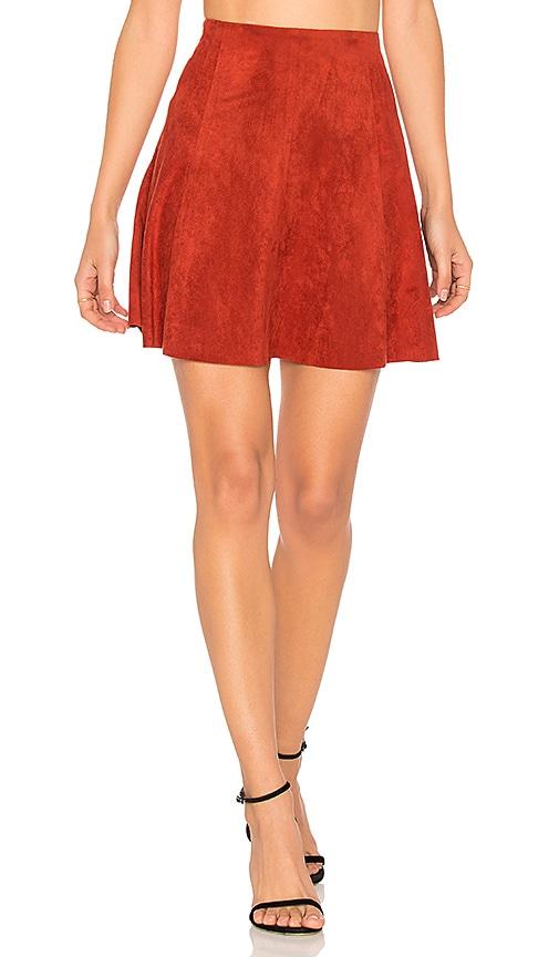 BB Dakota Aileen Skirt in Red