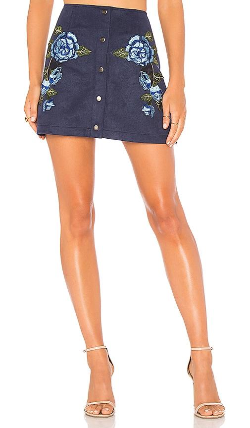 BB Dakota JACK by BB Dakota Cailyn Skirt in Blue
