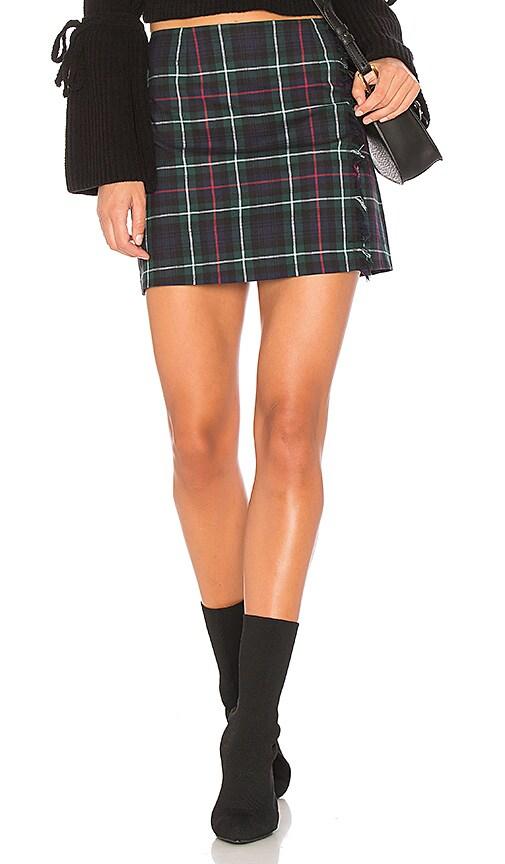 BB Dakota Graham Skirt in Green
