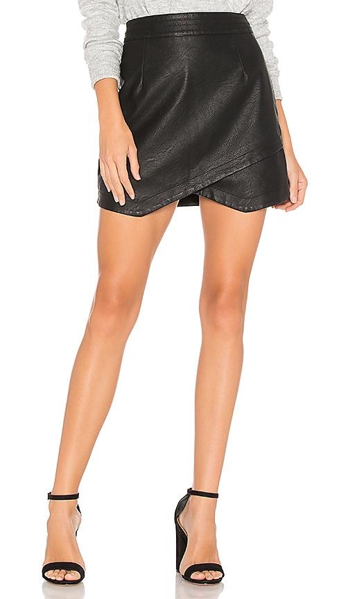 JACK by BB Dakota Angeline Faux Leather Skirt