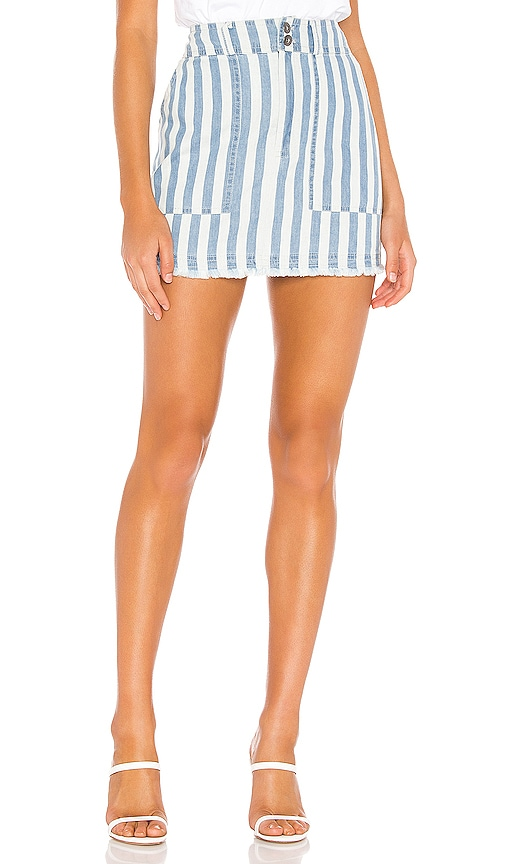 JACK by BB Dakota Say It In Stripes Skirt