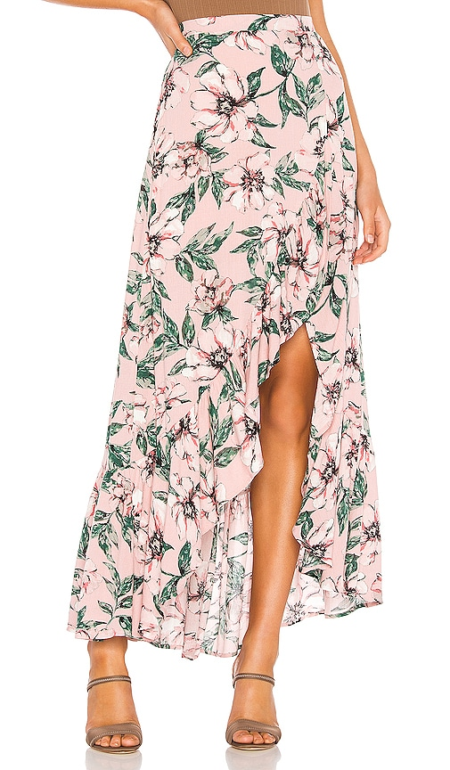 Jack by BB Dakota Haole Wrap Skirt