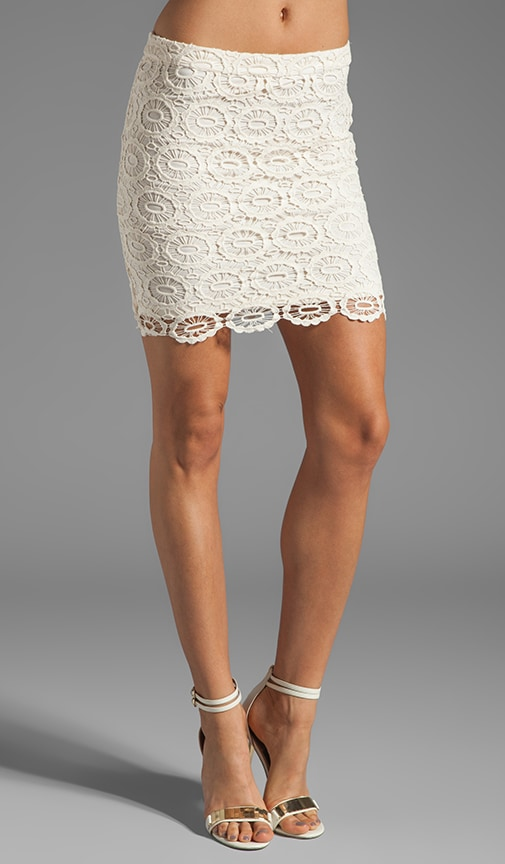 Williams Cotton Crochet Skirt