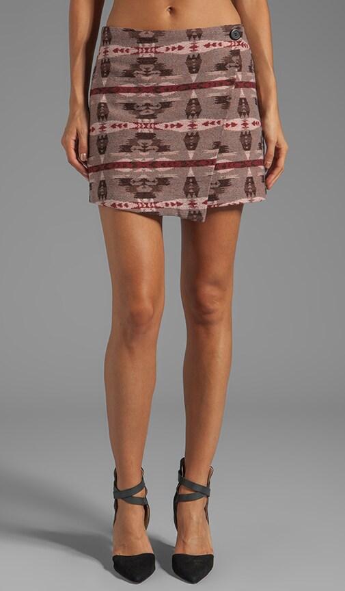 Camryn Pattern Wrap Skirt