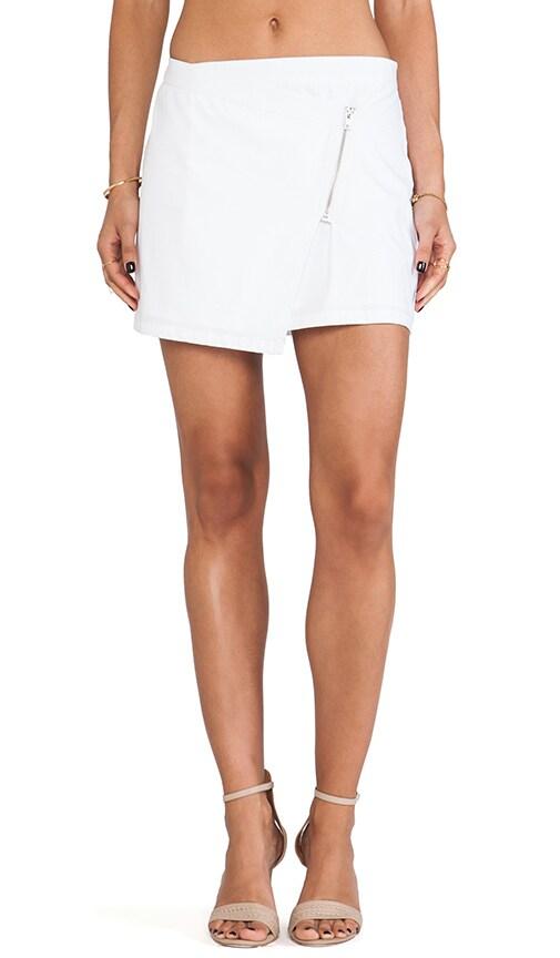 Garnet Mini Zip Skirt