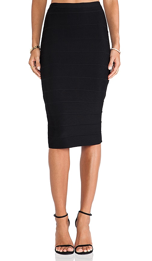 Senet High Waisted Bandage Skirt