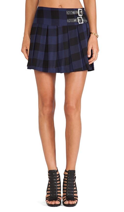 Corvin Plaid Mini Skirt