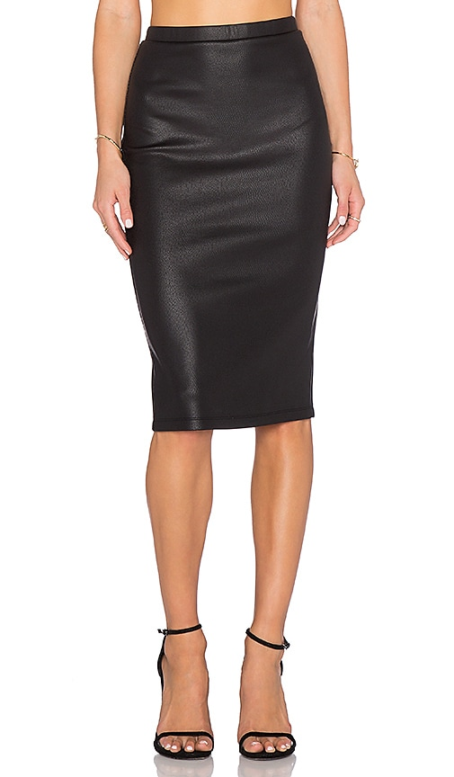 Kelan Snakeskin Pencil Skirt