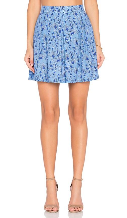 BB Dakota Jack By BB Dakota Donoma Skirt in Blue