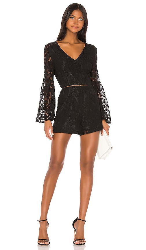 JACK by BB Dakota Know Your Lace Romper