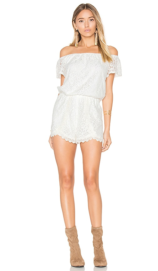 BB Dakota Jack by BB Dakota Liam Romper in White