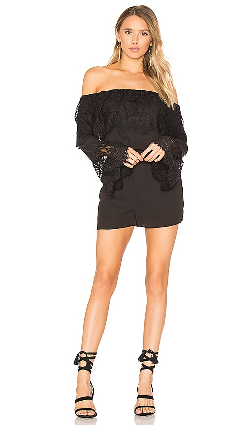BB Dakota Cavell Romper in Black