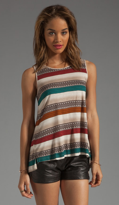 Gracy Sarape Printed Tank