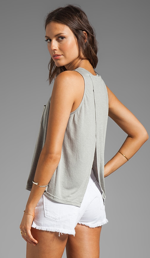 Massel Heather Rayon Knit Tank