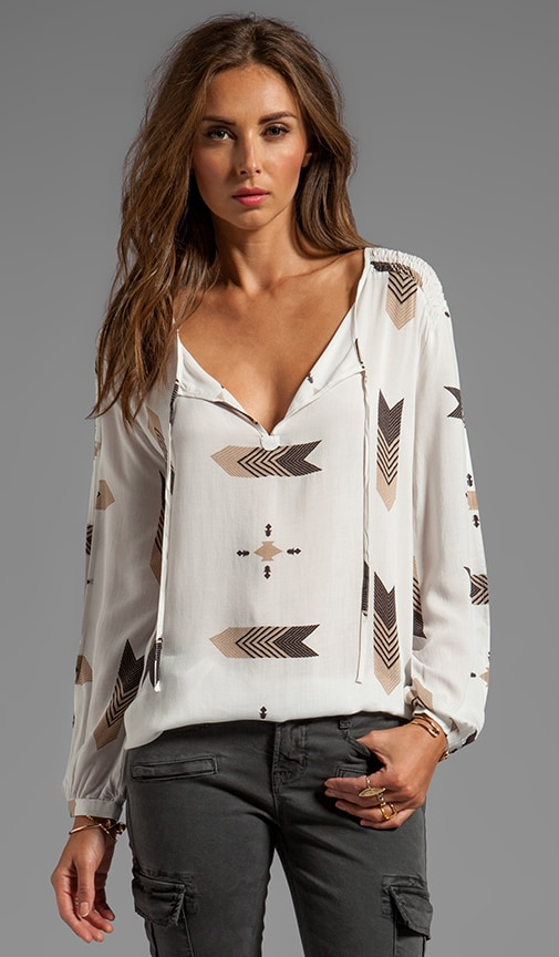 Jami Fletcher Printed Top