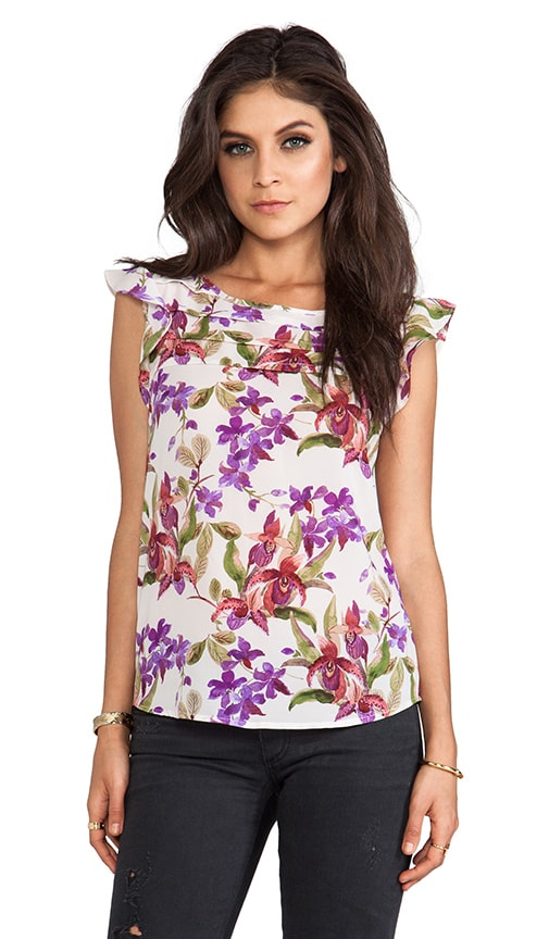 Jilles Orchid Printed Blouse