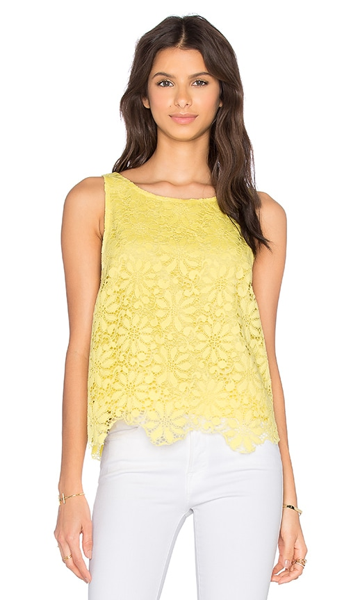 BB Dakota Daria Top in Yellow