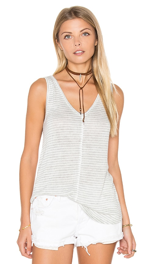 BB Dakota Tia Tank Top in Gray